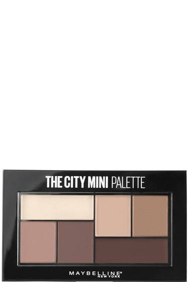 the city mini eyeshadow palette eye makeup maybelline. Black Bedroom Furniture Sets. Home Design Ideas