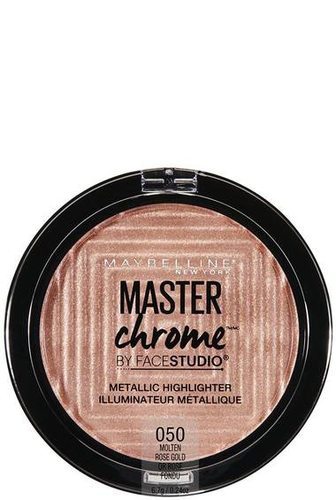 Facestudio® Master Chrome™ Metallic Highlighter Makeup