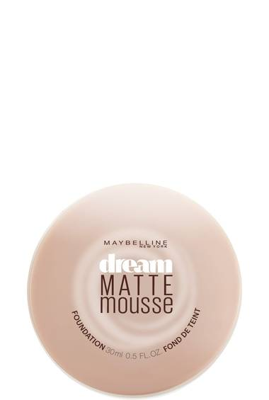 Dream Matte Mousse Matte Foundation Maybelline