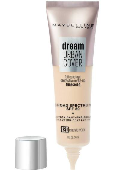 Dream Urban Cover Full Coverage Foundation Makeup, SPF 50