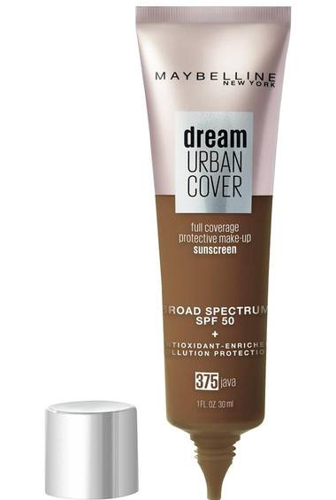 Dream Urban Cover Flawless Coverage Foundation Makeup, SPF 50