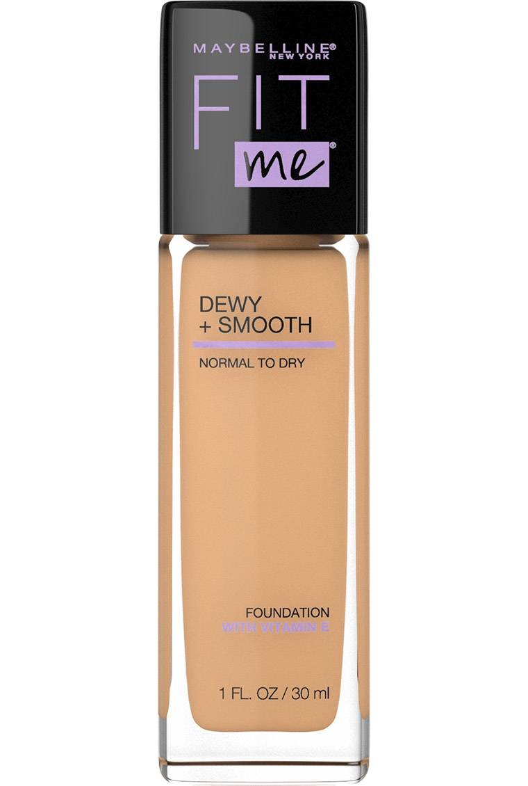 Fit Me Dewy Smooth Foundation Foundation For Dry Skin Maybelline