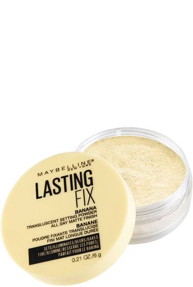 Lasting Fix Banana Powder, Loose Setting Powder Makeup