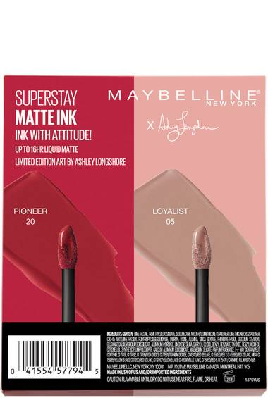 SuperStay Matte Ink™ Liquid Lipstick X Ashley Longshore 2 Piece Kit