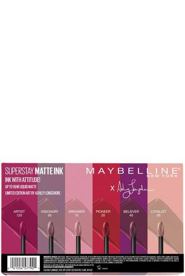 SuperStay Matte Ink™ Liquid Lipstick X Ashley Longshore Full Collection Kit