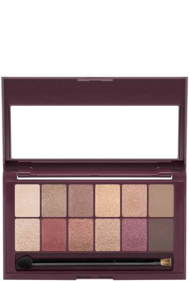 The Burgundy Bar Eyeshadow Palette Makeup