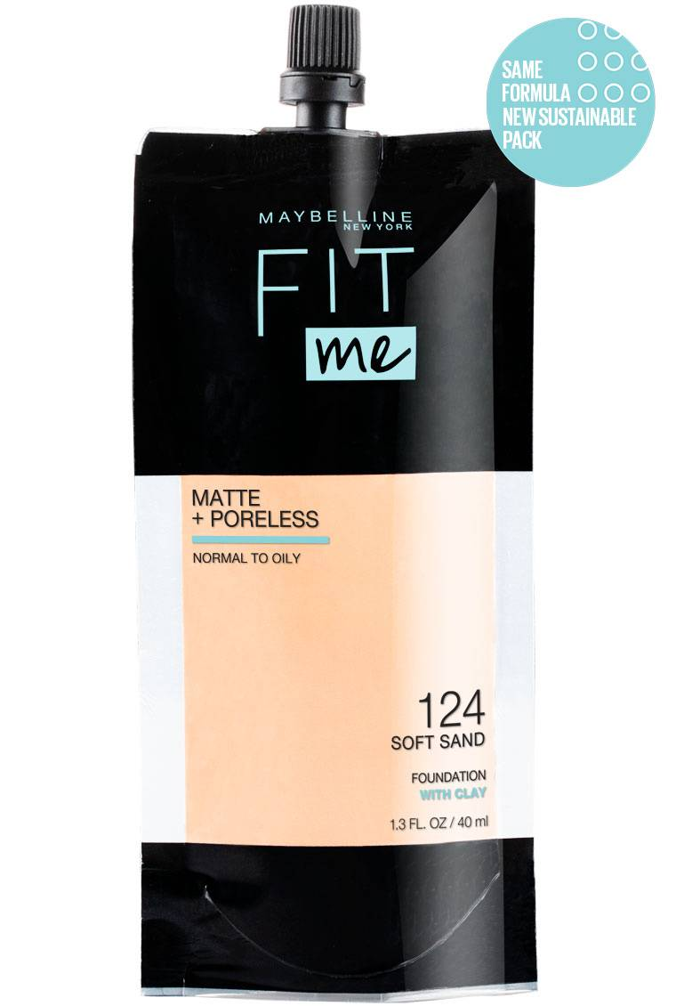 Fit Me Matte Poreless Foundation Pouch Maybelline