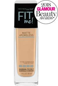 Face Makeup Flawless Shine Free Even Toned Skin Maybelline Fixy Ultimate Make Up Cake Peach Beige Fitmematteporelessfoundation