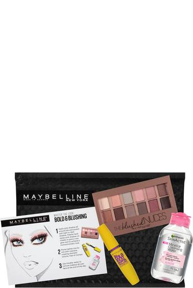 Eyeshadow, Mascara, Makeup Remover Kit