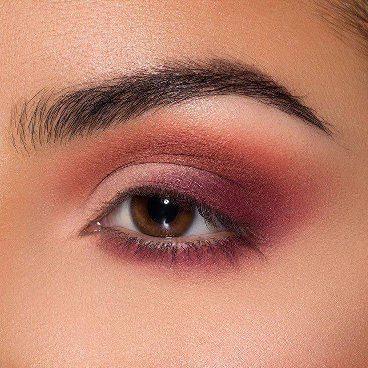 How To Create a Burgundy Matte Eyeshadow Tutorial - Maybelline