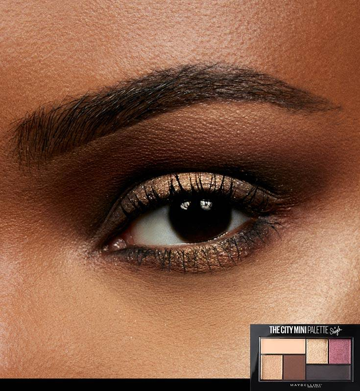 Create a Halo Eye Makeup Look , Maybelline