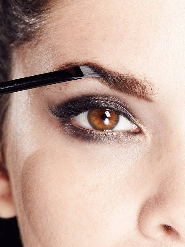 How To Fill In Eyebrows Brow Drama Pro Palette Maybelline