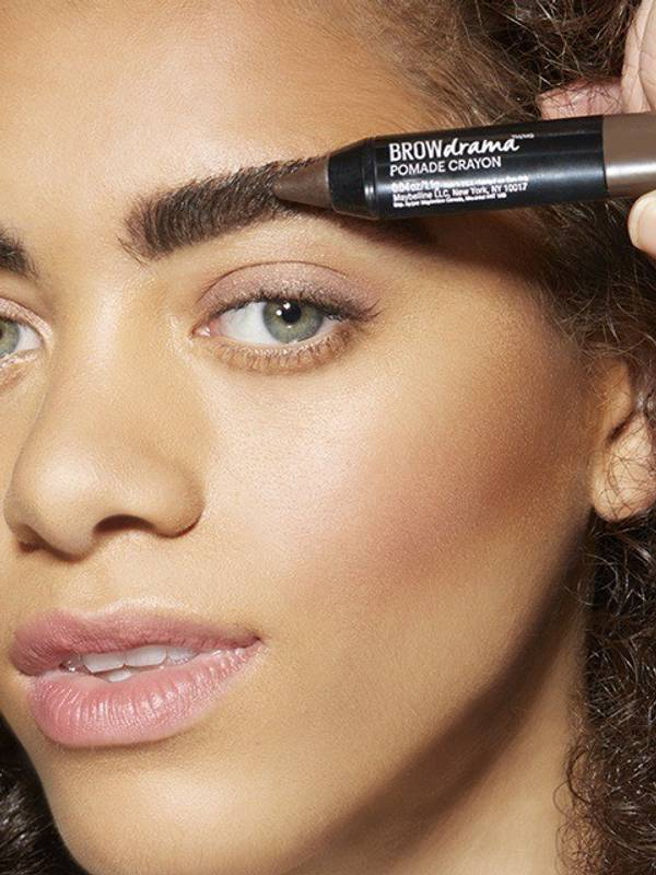 How To Sculpt Eyebrows With Brow Drama Pomade Crayon Maybelline