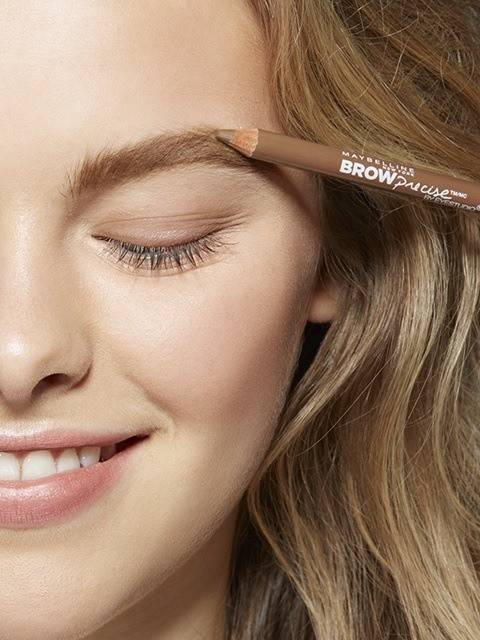 How To Shape Eyebrows With Brow Precise Pencil Maybelline