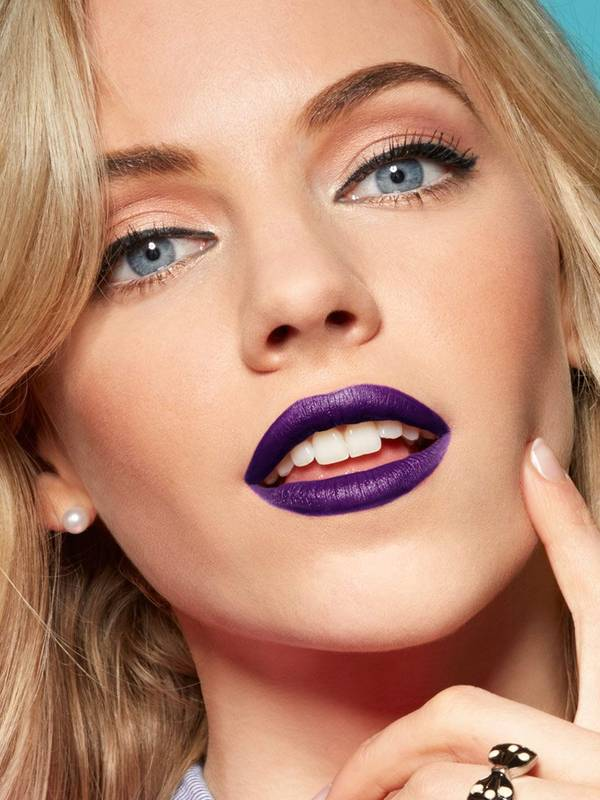 How To Wear Purple Lipstick - Lip Makeup Tips