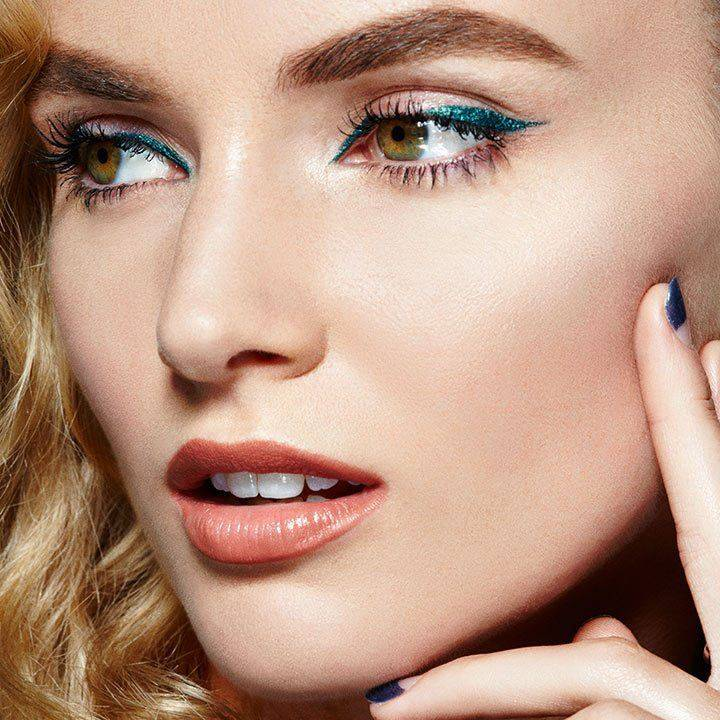 Spring makeup looks maybelline for Color tattoo eye chrome