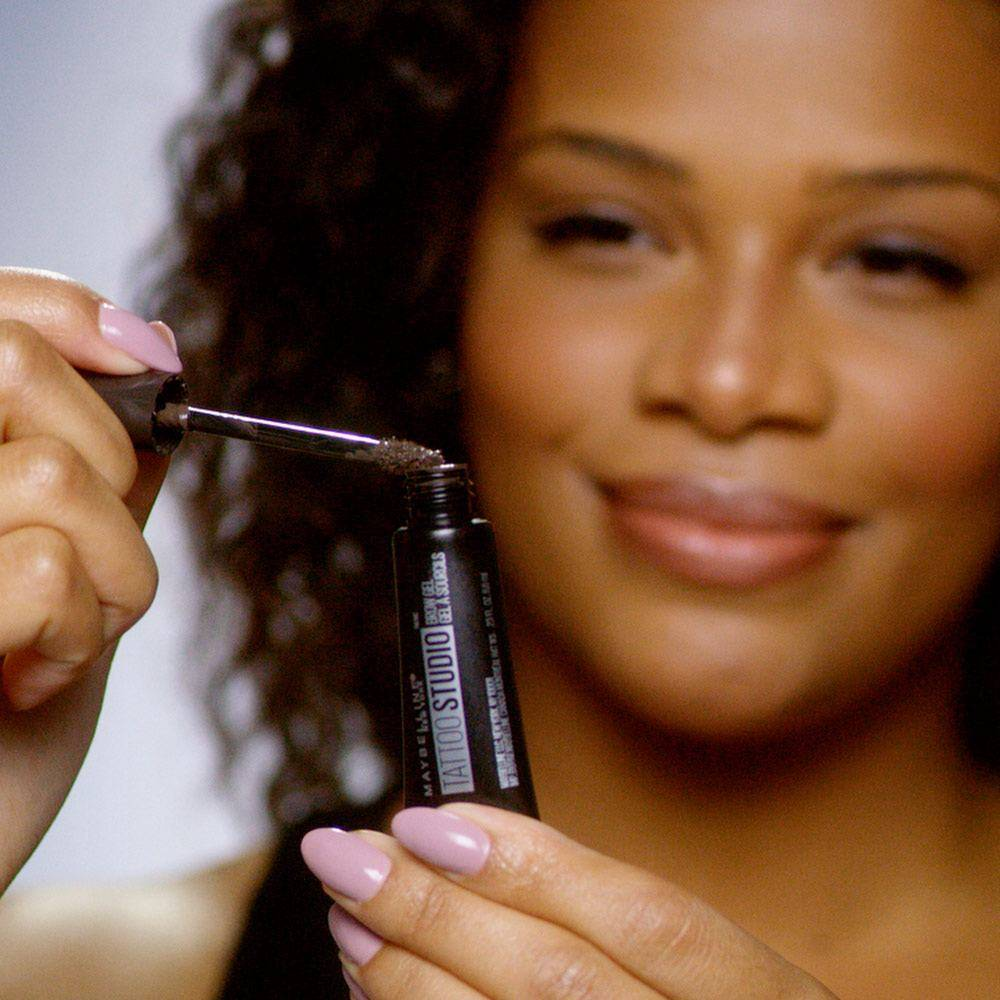 How To Color Eyebrows With Eyebrow Gel Maybelline