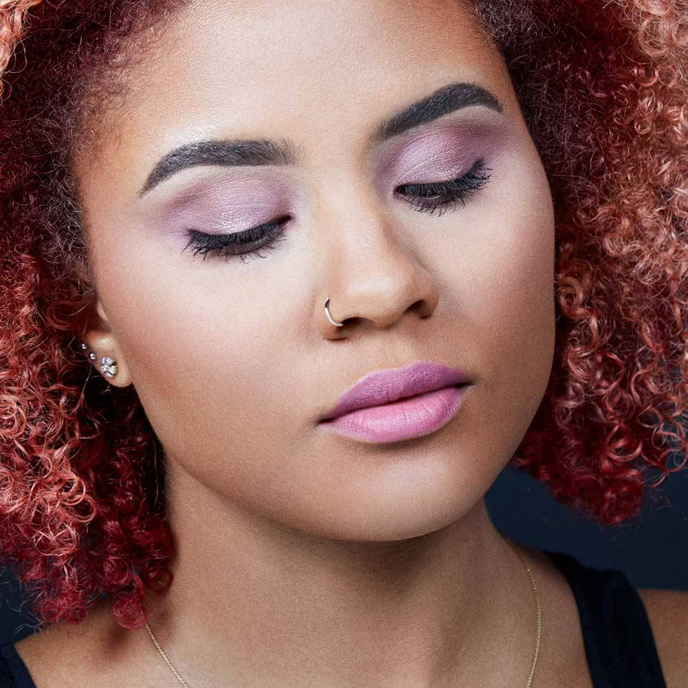 Makeup tips tutorials trends how tos maybelline maybelline fall makeup expert wear eyeshadow purple daze monochromatic mauve makeup tutorial baditri Image collections
